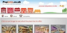 New Popinto Website Brings the High Street & Internet Together